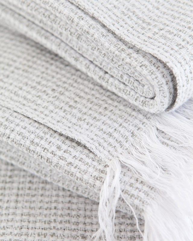 Mungo - Summer Towel - Grey - Detail