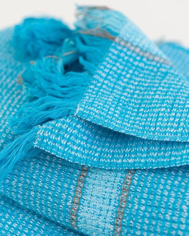 Mungo - Summer Towel - Turquoise - Detail