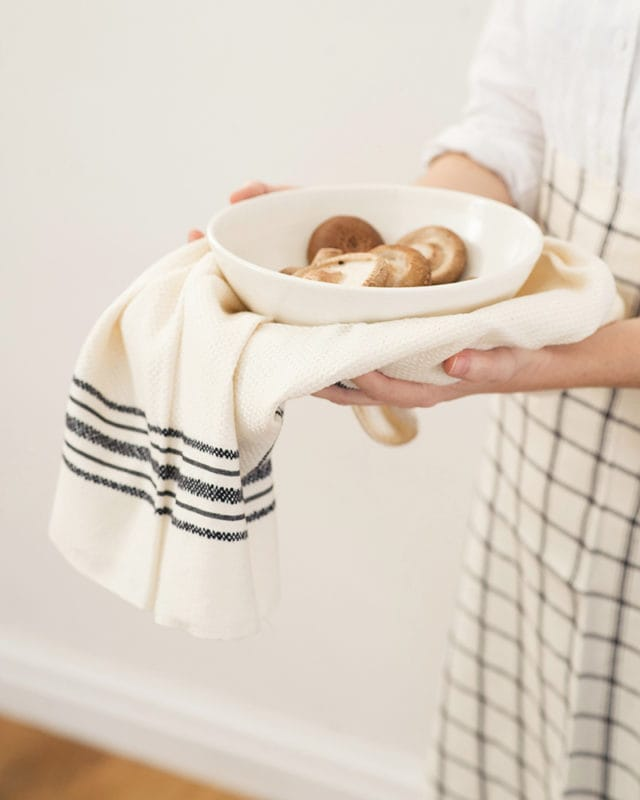 Mungo Utility Cloth. A versatile dish / kitchen cloth, woven at the Mungo Mill in South Africa